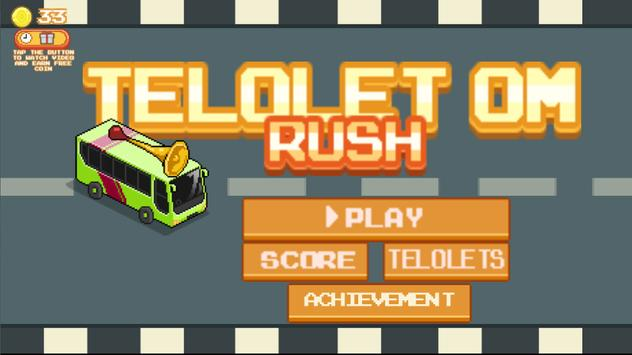 Telolet Om Rush screenshot 1