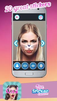 Live Face Camera Stickers poster