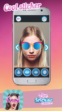 Live Face Camera Stickers apk screenshot