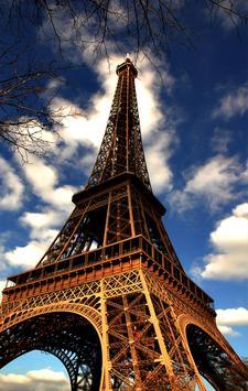 خلفيات صور برج ايفل في باريس screenshot 1