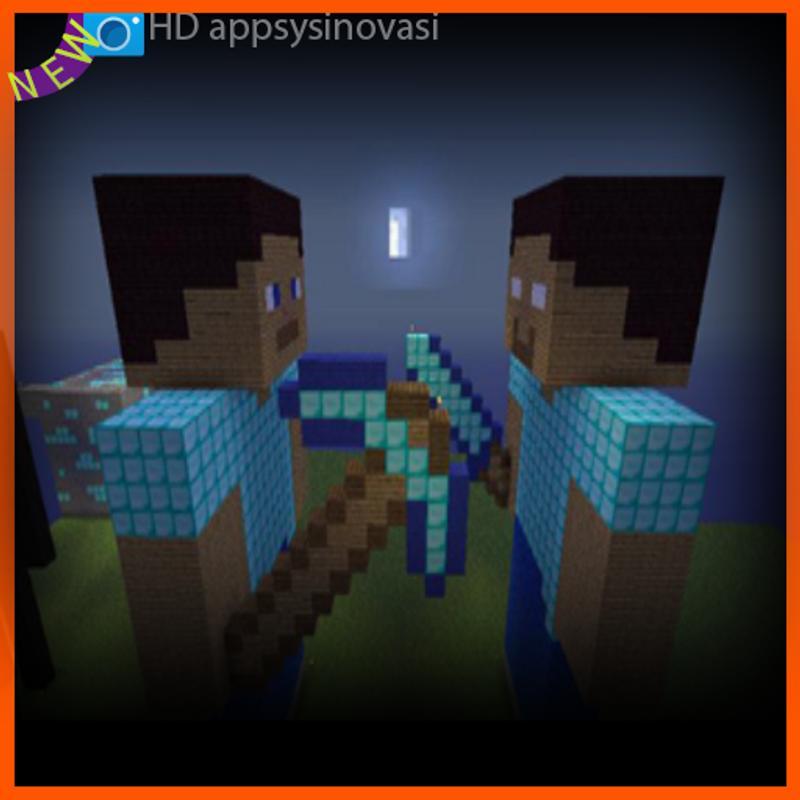 Live Minecraft Set Wallpaper 2018 Poster