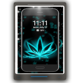 Live Neon Weed Launcher icon