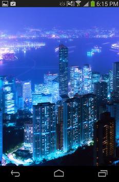 Night City Wallpaper poster