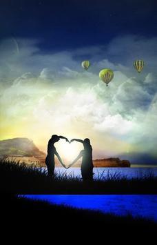 Romantic Love Wallpaper 3D Apk Screenshot