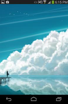 Sky Cloud Wallpaper Live 3D poster