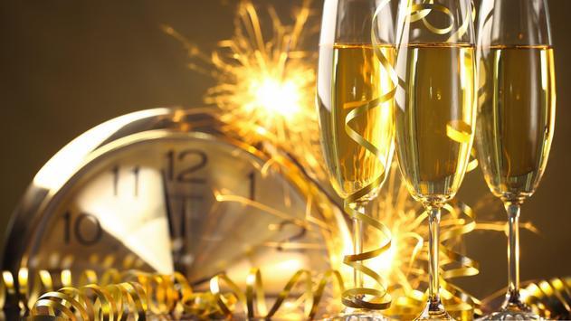 New Year Champagne. Wallpaper apk screenshot