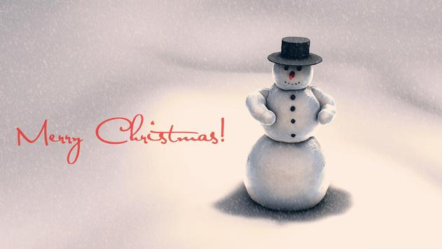 Happy snowman.Live wallpaper screenshot 2