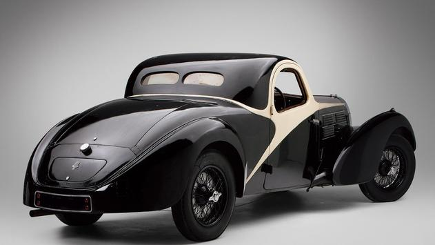 Vintage cars. Live wallpaper screenshot 1