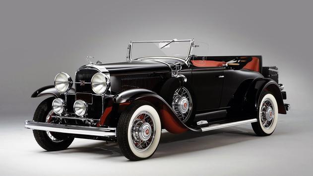 Vintage cars. Live wallpaper screenshot 3