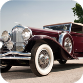 Old cars. Live wallpaper icon