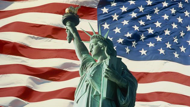 American flag. Live wallpaper apk screenshot