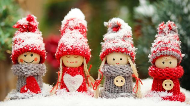 Winter dolls.Live wallpaper apk screenshot