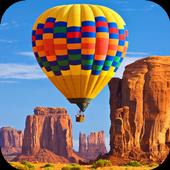 Hot air balloons.LiveWallpaper icon