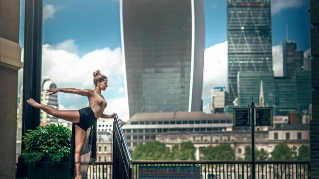 Street art. Ballet. Wallpaper apk screenshot