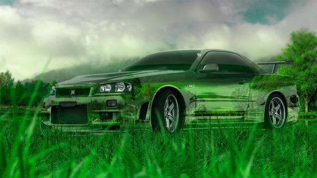 Art. Colored cars. Wallpaper apk screenshot