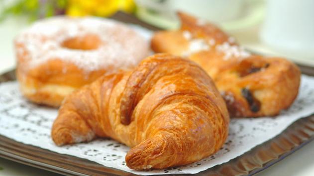Coffee and croissant. HD LWP screenshot 5