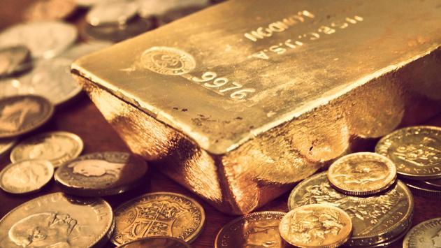 Gold coins. Live wallpaper apk screenshot