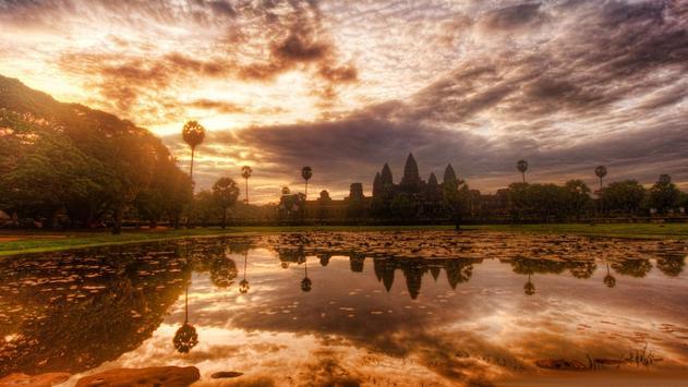 Cities. Angkor Wat poster