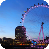 Cities. London Eye icon