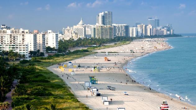 Cities. Beach in Miami apk screenshot