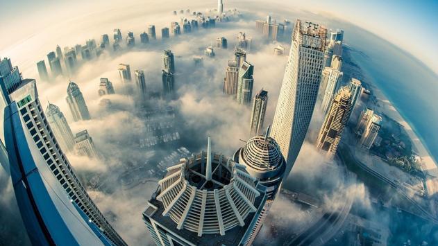 Cities. Dubai poster