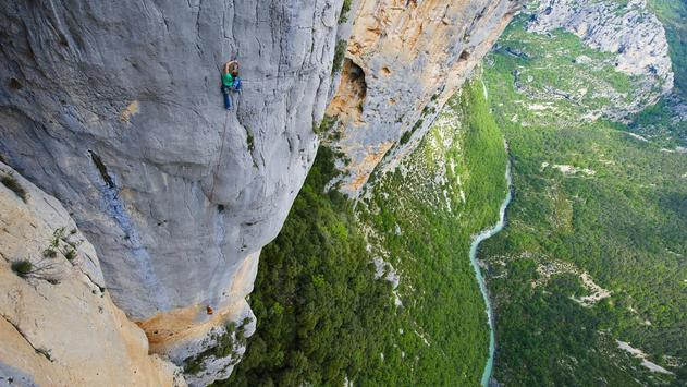 Rock climbing. Live wallpaper apk screenshot