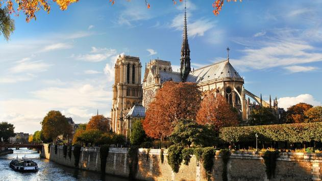 Notre dame de Paris. LWP apk screenshot