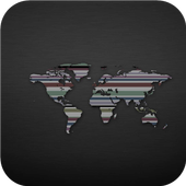 World map. Wallpapers icon