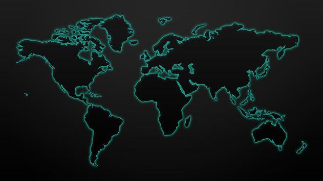 World map. Wallpapers screenshot 4