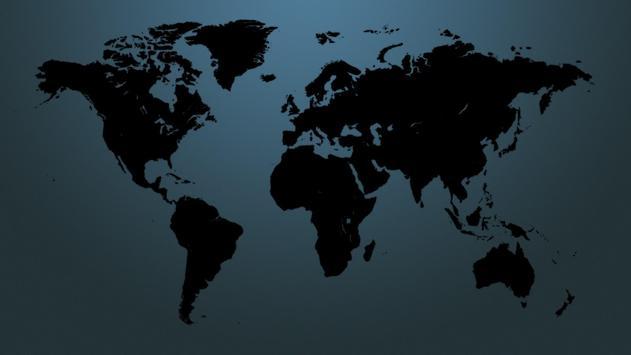 World map. Wallpapers screenshot 5
