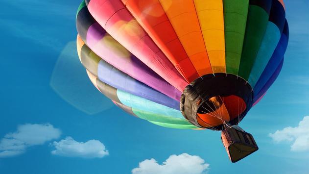 Flying air balloon. Wallpapers screenshot 5