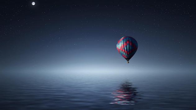 Flying air balloon. Wallpapers screenshot 3