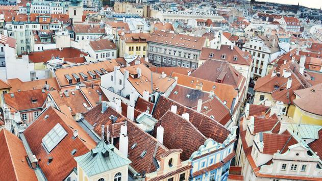 Roofs In Prague Live wallpaper apk screenshot