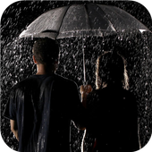 Rain drops and love wallpapers icon