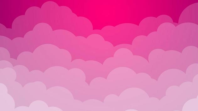 Pink clouds. Live wallpapers screenshot 5