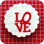 Love cupcake. Live wallpapers icon