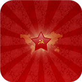 Red star. Live wallpapers icon