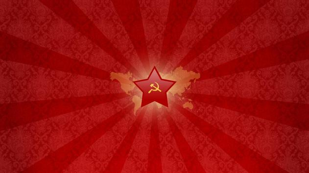 Red star. Live wallpapers poster