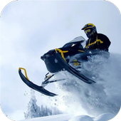 Extreme. Snow race. Wallpapers icon