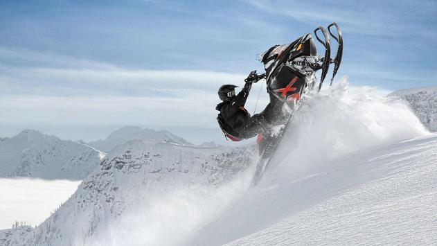 Extreme. Snow race. Wallpapers apk screenshot