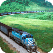 Trains. Mechanical wallpapers icon