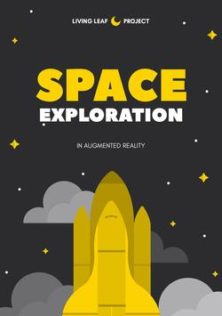SPACE EXPLORATION - AUGMENTED REALITY poster