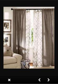 Living Room Curtains poster