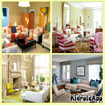 Living Room Decorating Poster
