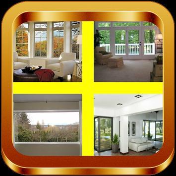Living Room Window Ideas poster