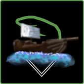 Shipwrecked - The pirate ship icon