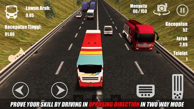 Telolet Bus Driving 3D screenshot 20