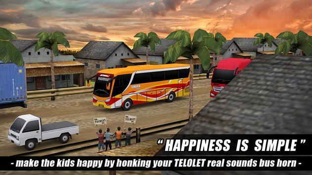 Telolet Bus Driving 3D screenshot 7