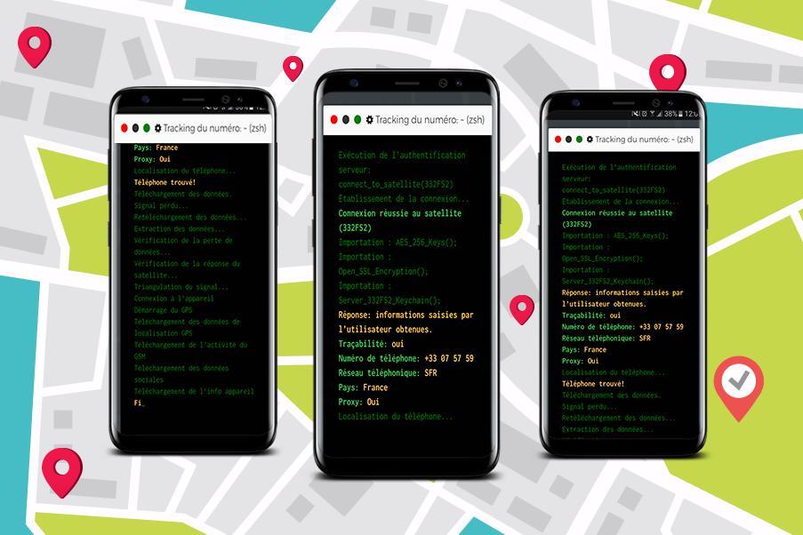 45d25d461aef0 Localiser un téléphone portable gratuit : Prank for Android - APK ...