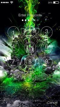 Buddha Meditate Lock Screen screenshot 1